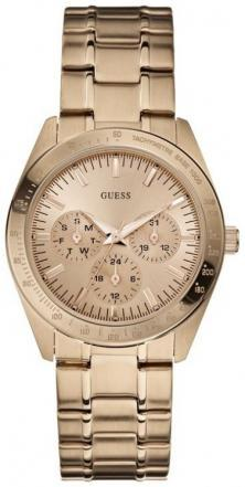 Hodinky Guess Feminine Dress Rose Gold U13623L1
