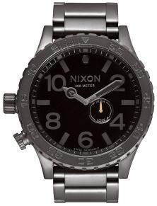 Hodinky Nixon 51-30 Tide All Gunmetal Black A057 680
