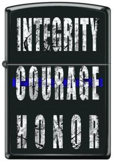 Zapaľovač Zippo Integrity Courage Honor 4954