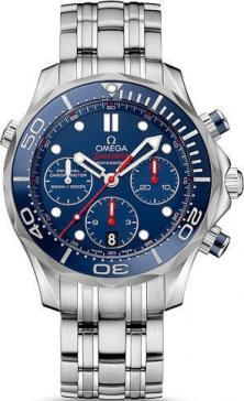 Hodinky Omega Seamaster 300m Diver Co-Axial Chronograph  212.30.44.50.01.001 (soukromý prodej)