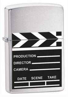 Zapaľovač Zippo Movie Take Clapperboard 28064