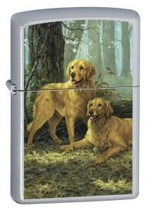Zapaľovač Zippo LP - Two Golden Retrievers 20259