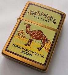 Zapaľovač Zippo Camel Turkish Domestic Blend Brass