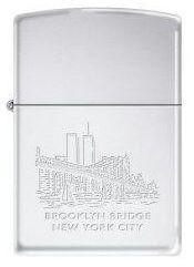 Zapaľovač Zippo Brooklyn Bridge WTC Towers 2274