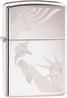Zapaľovač Zippo USA Flag and Statue of Liberty 2265