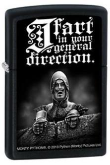 Zapaľovač Zippo Monty Python - I Fart In Your General 2753