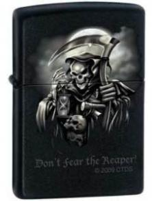 Zapaľovač Zippo Do not Fear the Reaper 0409
