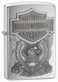 Zapaľovač Zippo HD Made In Usa Emblem 21578