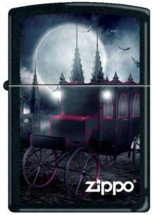 Zapaľovač Zippo Goth Carriage And Bat 9216