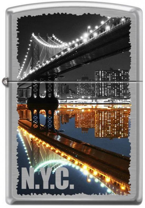 Zapaľovač Zippo New York City Manhattan Bridge 7841
